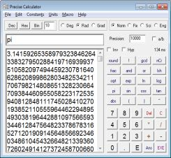 Precise Calculator screenshot